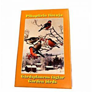 Pihapiirin lintuja -pelikortit